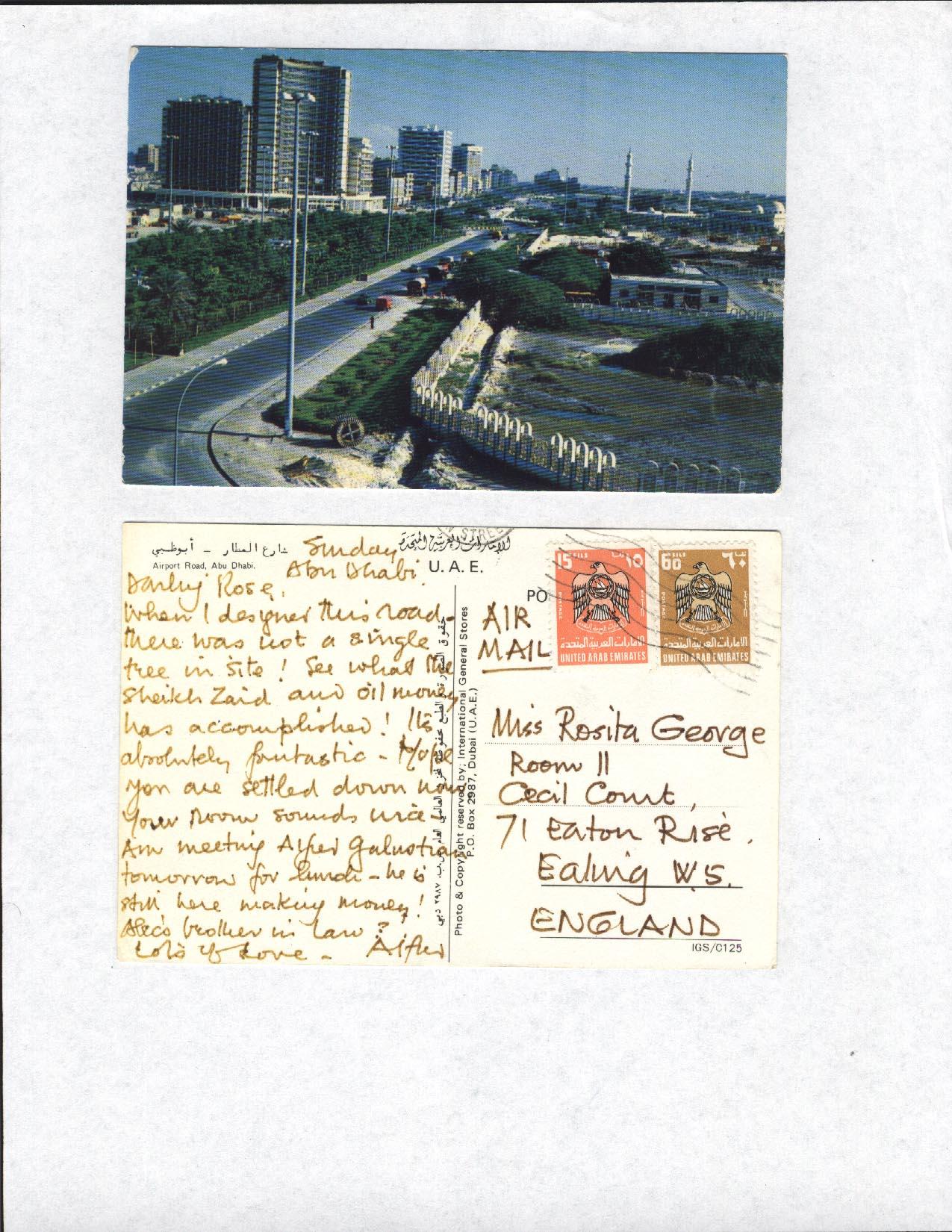 #AbuDhabi #OriginalTownPlanner #RIBA #Architect #AlfredGeorge #ArabiconAssociatedConsultants #PendingFeesToMeet #ilookup