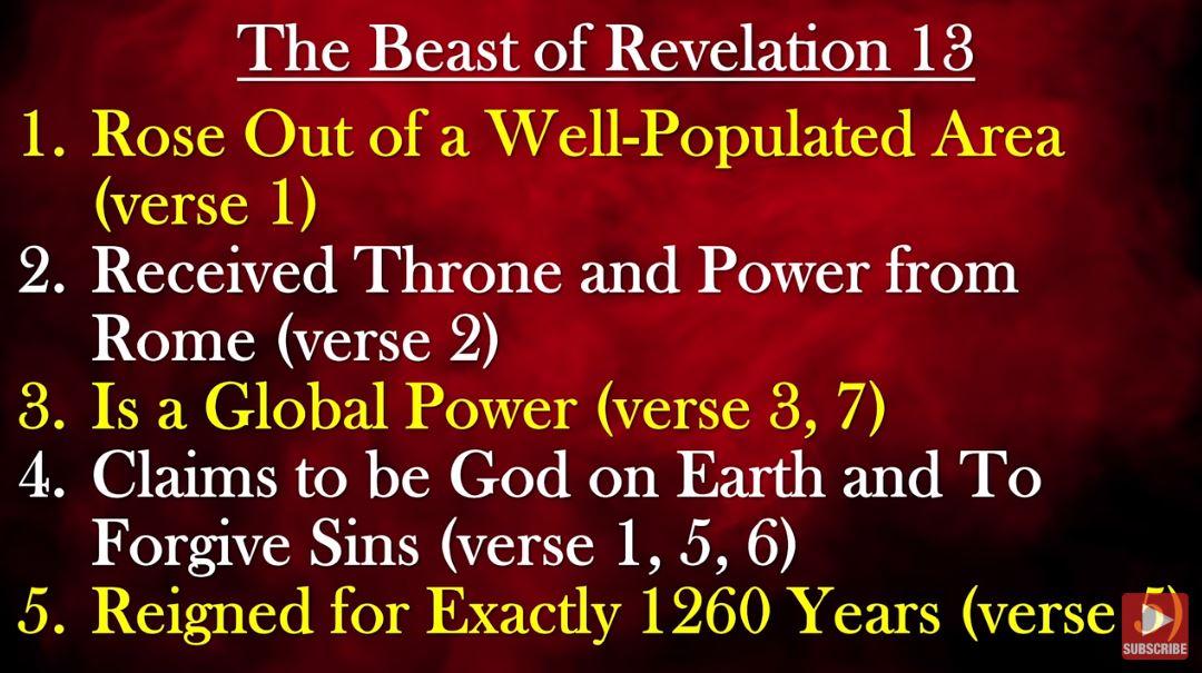 Bible explains New world